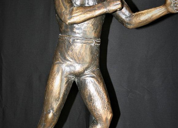 19C.Bronze boxer
