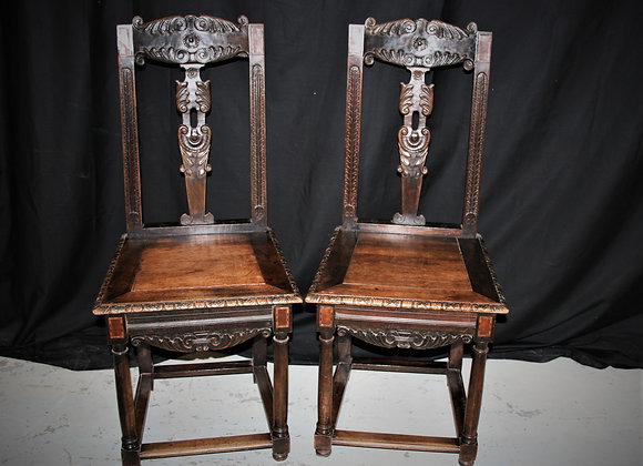 19th Century chairs set of six