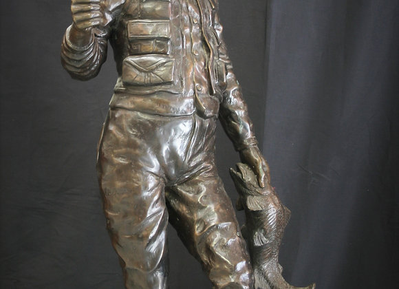 LG Bronze fisherman