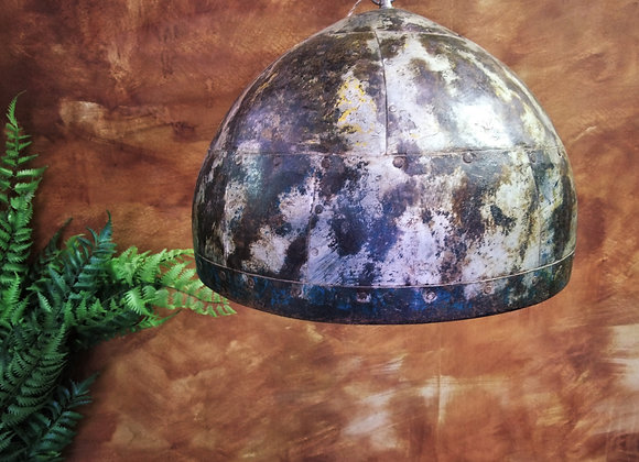 Iron lamp shade
