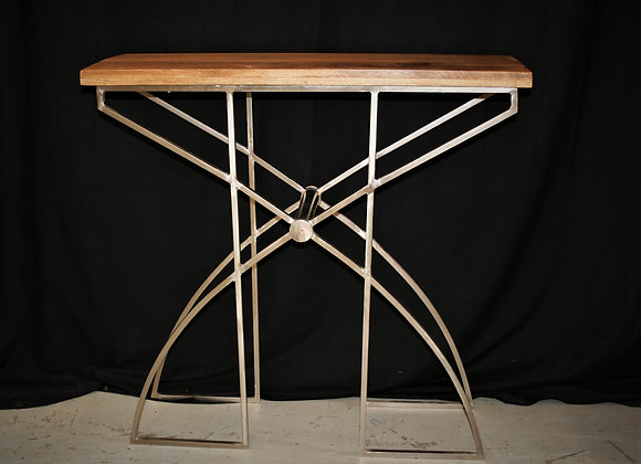 Deco console wood top