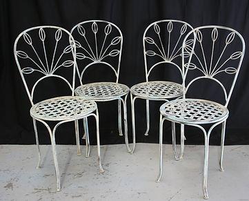 iron chairs. 129405