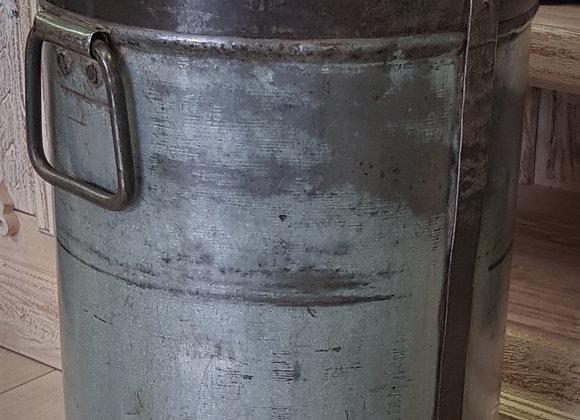 vintage iron milk churn