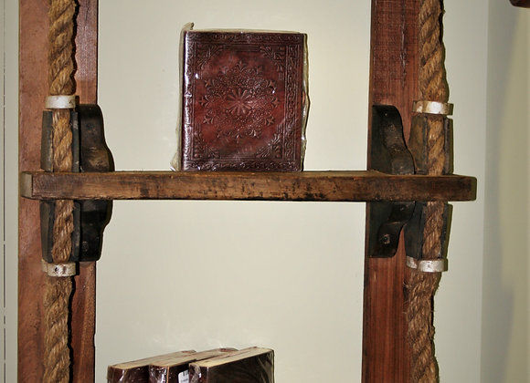 ships ladder shelving unit