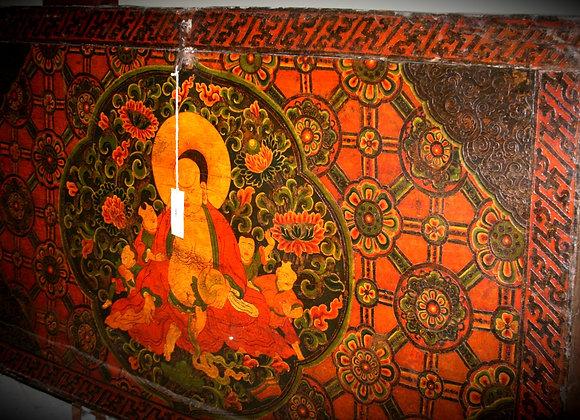 large very rare Tibetan chest