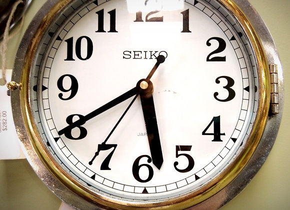 Seiko salvaged ships clock