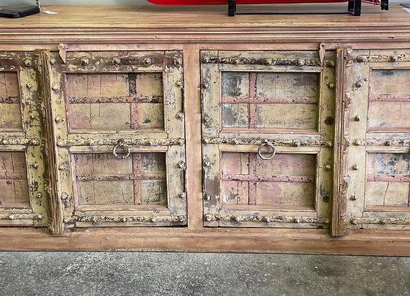 vintage door teak sideboard