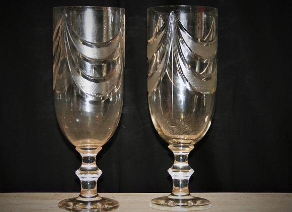 Moon cut vase