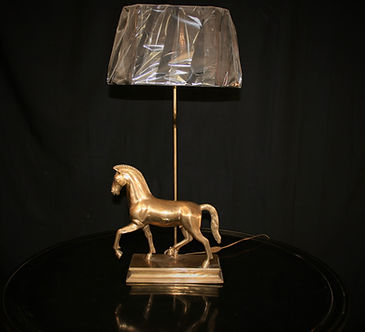 Brass table lamp 100720