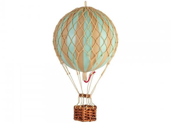 small mint balloon