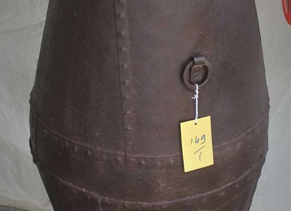 vintage iron Pot