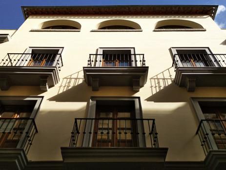 Edificio de viviendas en calle Buensuceso, Granada