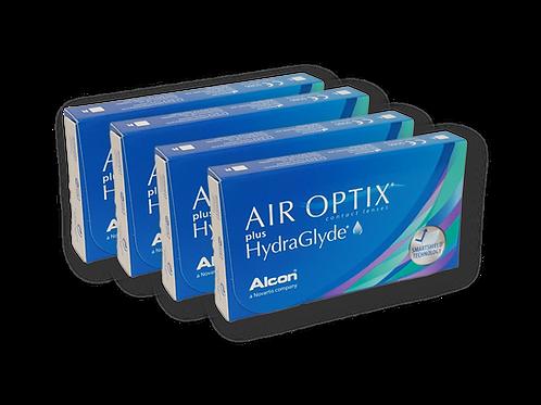 AIR OPTIX PLUS HYDRAGLYDE 4 CAJAS