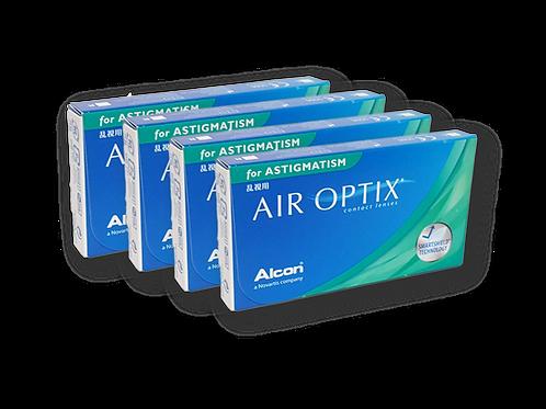 AIR OPTIX FOR ASTIGMATISM 4 CAJAS