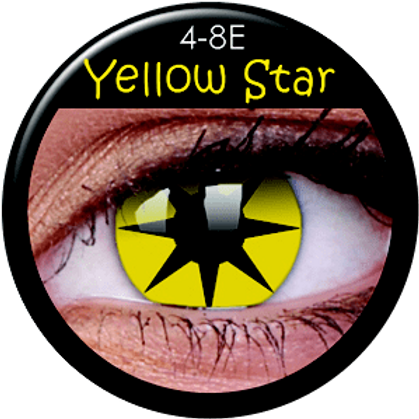 LENTES LOCOS YELLOW STAR