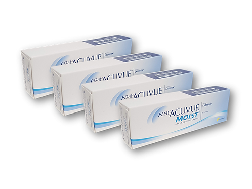 ACUVUE MOIST - 1 DAY - 4 CAJAS