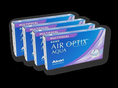 AIR OPTIX AQUA MULTIFOCAL 4 CAJAS