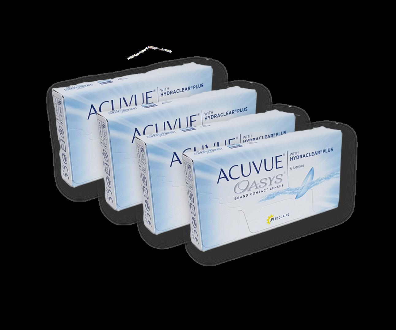 ACUVUE OASYS  HYDRACLEAR 4X3 1 - OPTICAR