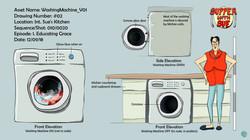 Wahing Machine Model Sheet