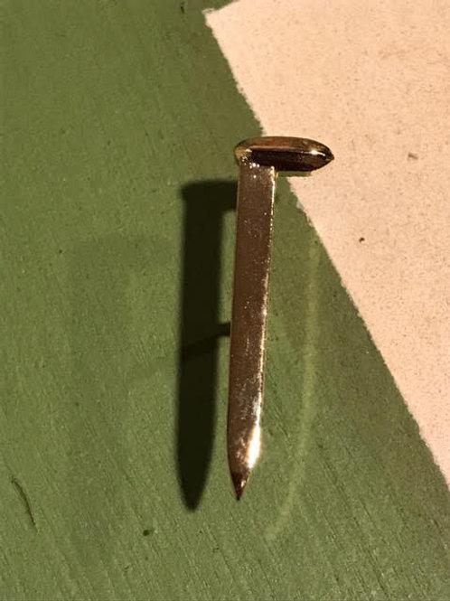 Golden Railroad Spike Pin