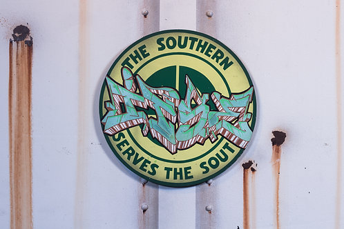 Itse Southern Railroad Sign