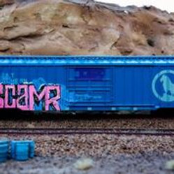 Scam 50' Great Northern Boxcar Ho Scale