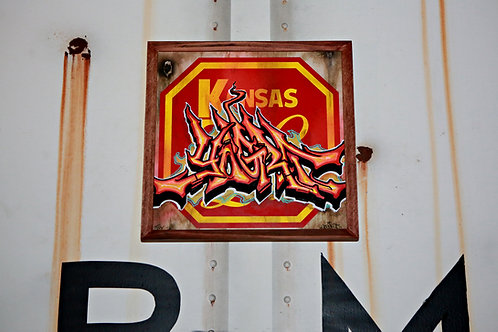 Yogurt Kansas City Southern Sign