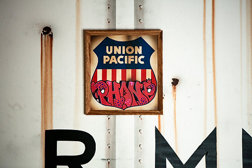 Phone Vintage Union Pacific Sign
