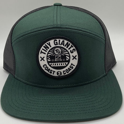 Tiny Giants Snapback Hat -Hunter/Black
