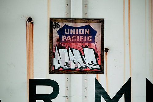 Asahe Union Pacific Sign