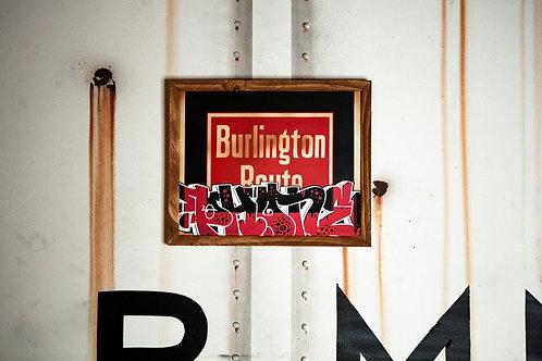 Phone Vintage Burlington Sign