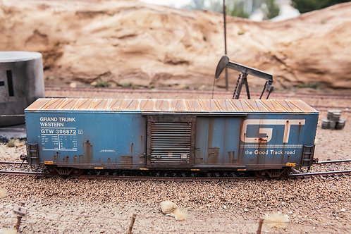 GT 60' Boxcar Ho Scale