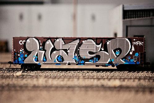 Wasp 60' Conrail Boxcar Ho Scale
