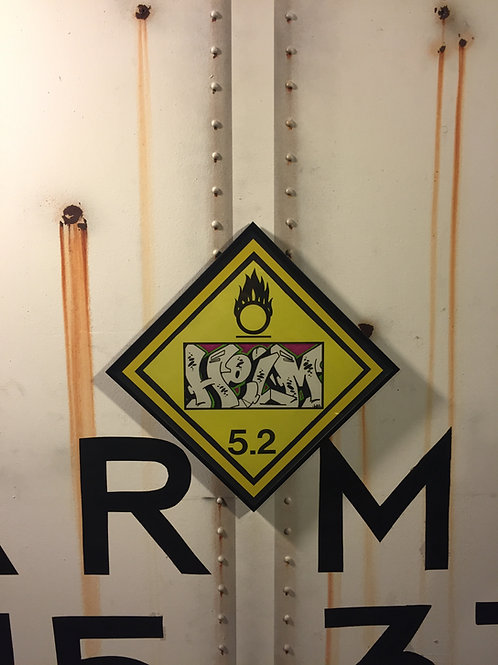 Helm Vintage Chessie Systems Warning Sign