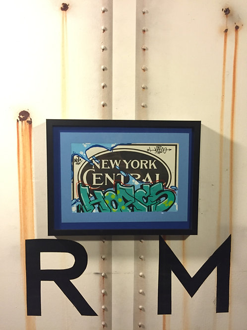 Hoacs NYCRR Vintage Place Card