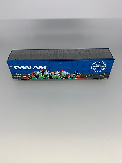 Ichabod Pan Am 50' Boxcar HO Scale