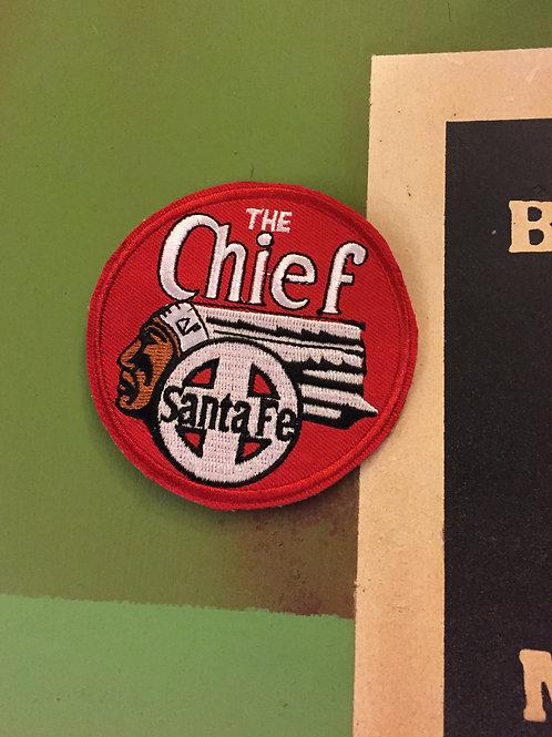 Santa Fe Chief Patch Round