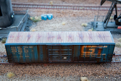 GT 50' Boxcar Ho Scale