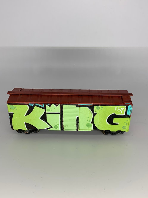 KING157 40' Boxcar HO Scale