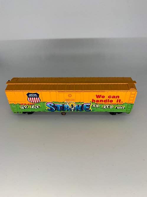 Strike Union Pacific 50' Boxcar HO Scale