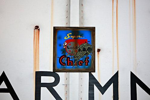 Hider Vintage Santa Fe Super Chief Sign