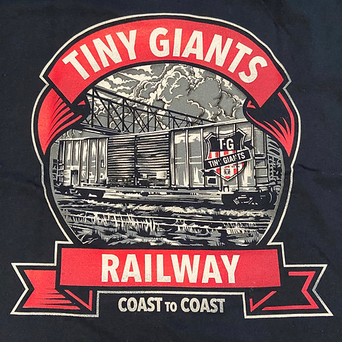 """Tiny Giants """"In Motion"""" T-Shirt -Navy"""