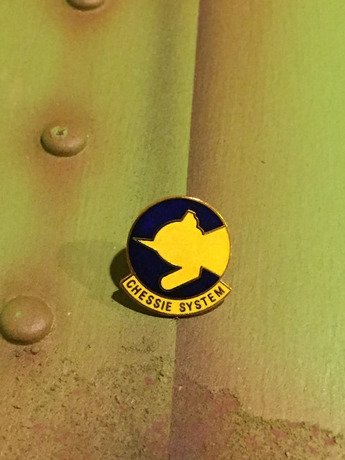 Chessie System Original Logo Pin