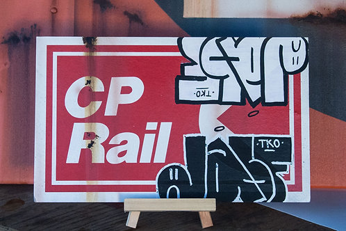 CP Rail Hard Card insert by JASF