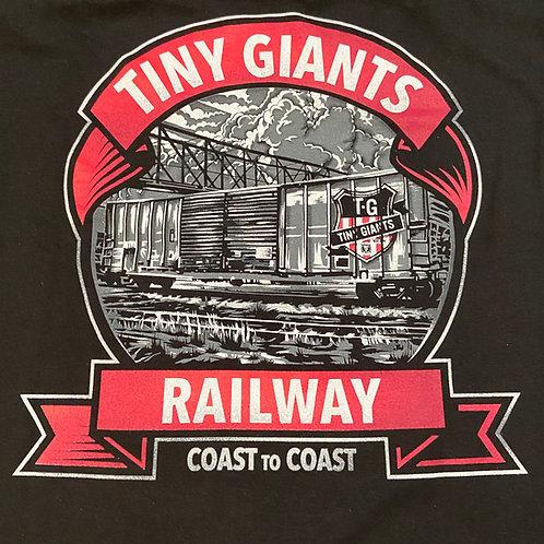 "Tiny Giants ""In Motion"" T-Shirt -Black"