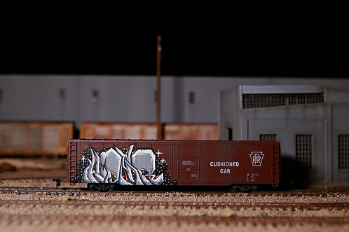 Hider PRR 60' Boxcar HO Scale