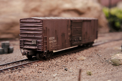 Mississippi Delta 50' Boxcar Ho Scale