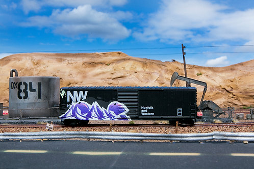 Asahe 50' NW Ho Scale Boxcar