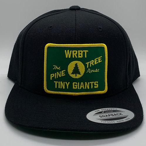 Tiny Giants/WRBT Maine Central 6 Panel Snapback Hat Black