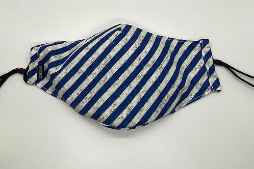 Tiny Giants Protective Mask -Blue Stripe